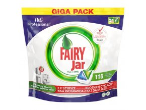 jar tablety do umyvacky 155ks giga pack fairy