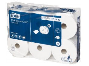 TORK Toaletný papier Smart One, 6ks