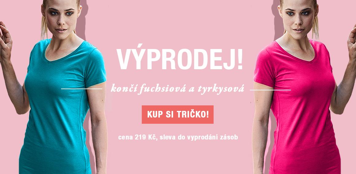 Dámské tričko Tee Jays výprodej