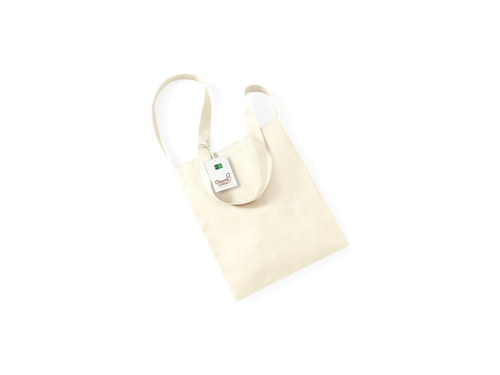Nákupní taška EarthAware z organické bavlny 8 l
