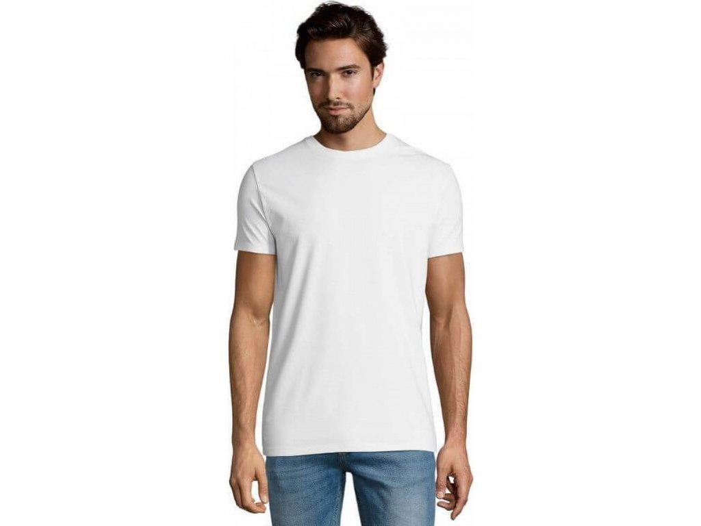Pánské vypasované slim-fit tričko Millenium 5% elastan 190 g/m