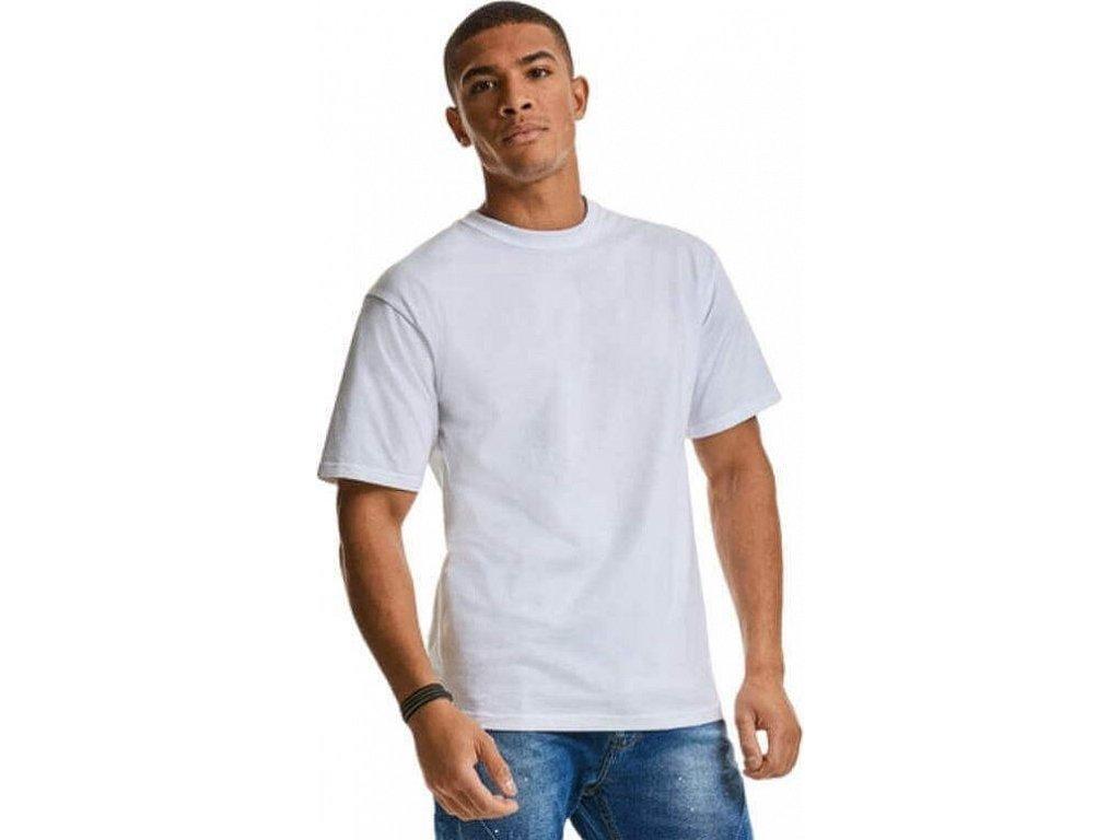 Tričko Russell z česané bavlny s vysokou gramáží 215 g/m
