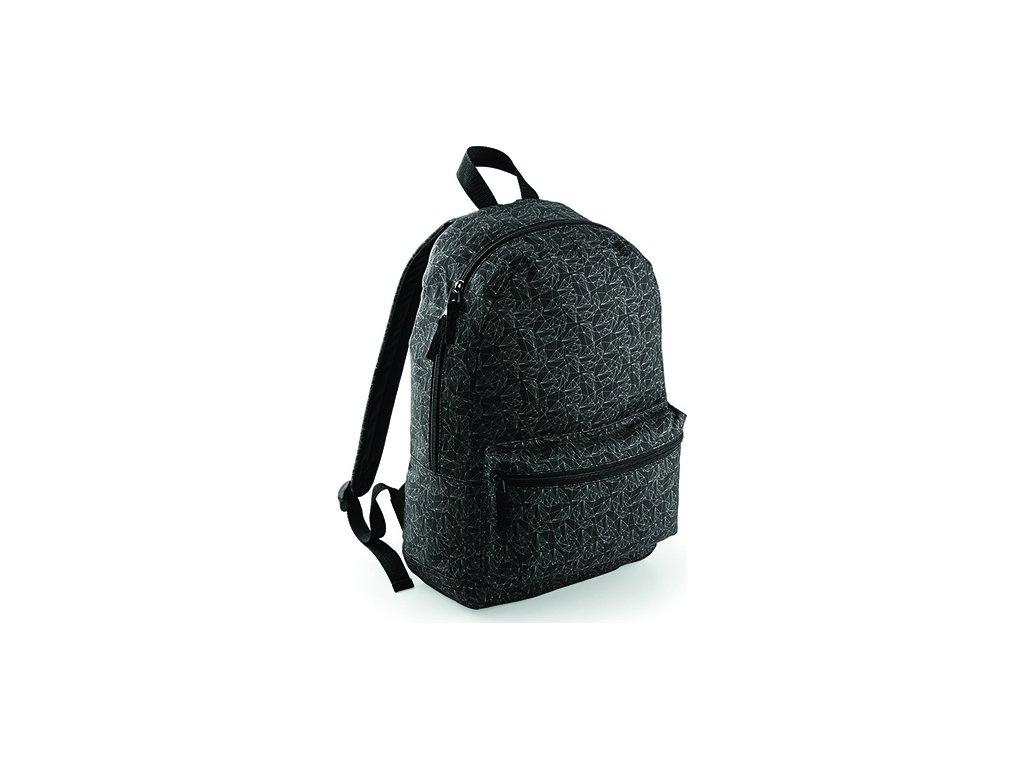 Batoh Bagbase s geometrickým vzorem 22 l