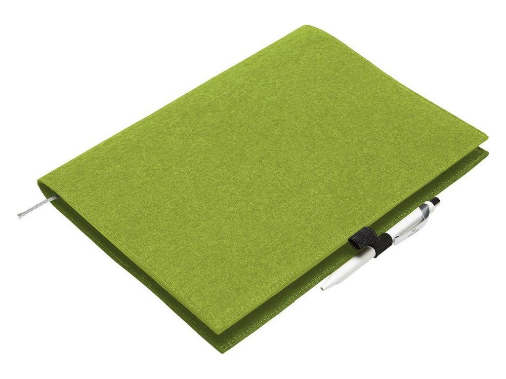 Kvalitní plstěný obal na dokumenty Eco 24 x 32 x 1 cm