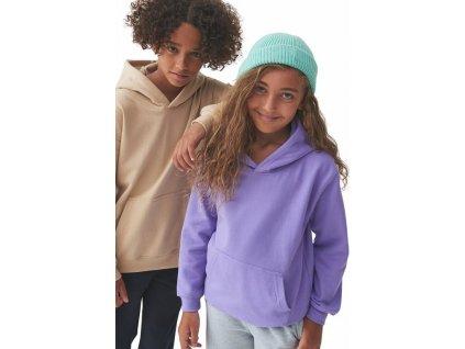 Dětská klokánka s dvojitou kapucí 80% bavlna