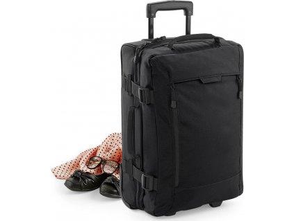 Prakticky řešený dvoukomorový kufr do kabiny letadla 40 l