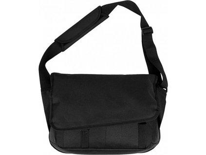 Polyesterová taška přes rameno s oddílem na laptop 9 l