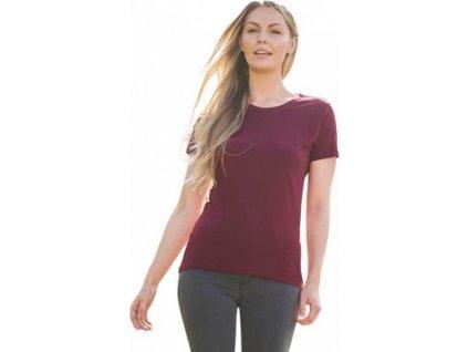 Módní dámské tričko Ecologie z organické bavlny