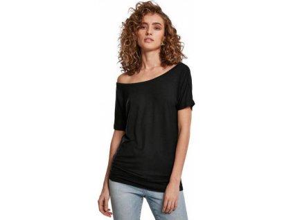 Lodičkové prodloužené tričko šaty s viskózou