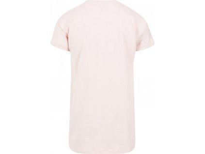 Prodloužené bavlněné triko Urban Classics s ohrnutými rukávy