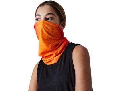 Bezešvý nákrčník Morf s geometrickými tvary