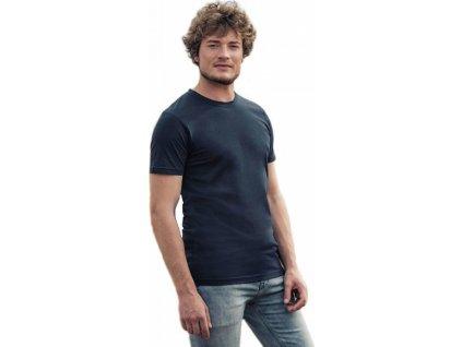 Luxusní pánské tričko z česané organické bavlny HRM 160 g/m