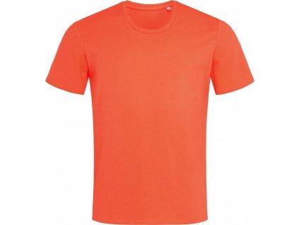 Lehce strečové tričko s kulatým výstřihem Clive rovný střih 170 g/m