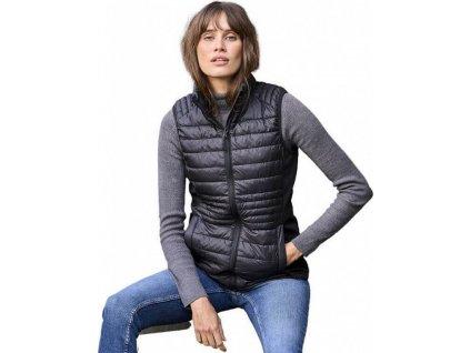 Softshellová prošívaná vesta Bodywarmer s polstrováním