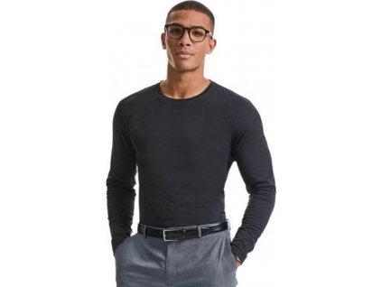 100 % organické pánské triko s dlouhým rukávem