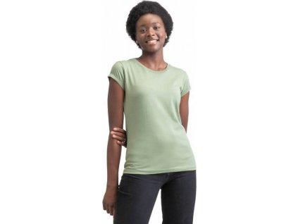 Dámské tričko Mantis z organické bavlny s ohnutými rukávky