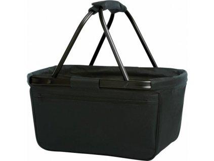 Nákupní košík s kapsou Halfar Blackbasket 28 l
