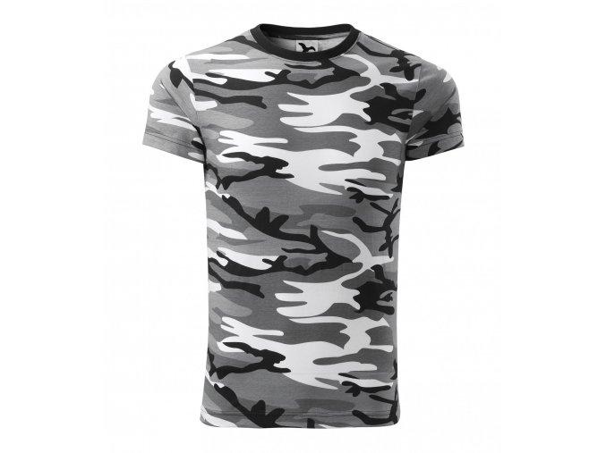 Kamuflážové tričko Malfini ve třech variantách