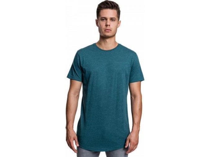 Prodloužené pánské melírové triko Urban Classics 100% bavlna
