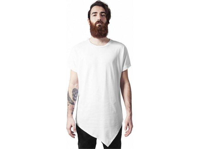 Prodloužené pánské triko Urban Classics asymetrický střih