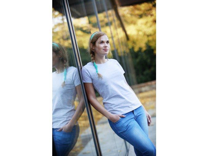 Dámské bavlněné tričko Valueweight T s kulatým výstřihem