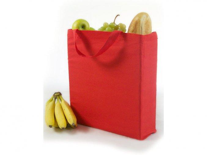 Pevná bavlněná nákupní eko taška Printwear 15 l