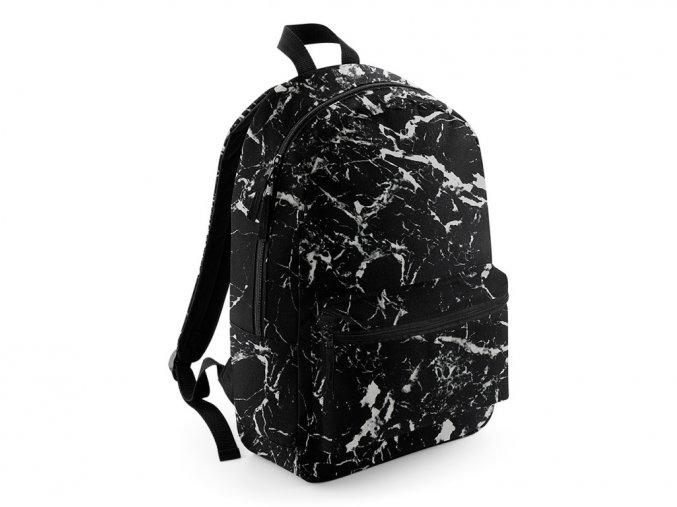 Batoh Bagbase s různými vzory black mineral