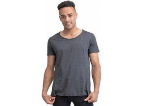 Moderní pánské organické Raw tričko