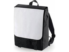 Batoh na sublimaci s kapsou ze síťoviny na zip 10 l