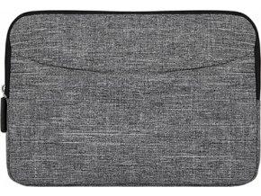 Taška na tablet Houston v šedě melírované barvě
