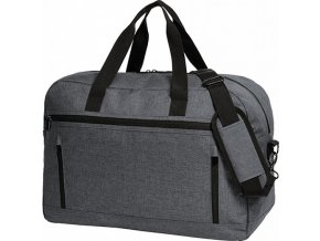Elegantní cestovní taška s pevným dnem a třemi kapsami 40 l