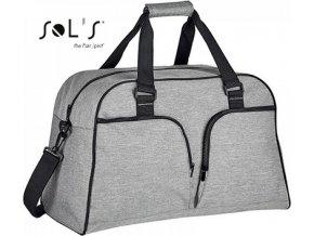Dámská cestovní taška Hudson s černými detaily 47 l