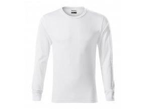 Pánské bavlněné triko Resist s dlouhým rukávem s manžetou