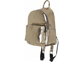 Módní midi metalický batůžek Urban Classics střední velikost