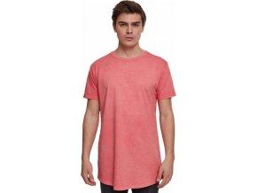 Prodloužené vyšisované pánské tričko Urban Classics
