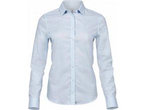 Dámská vypasovaná košile Stretch Luxury s dlouhým rukávem