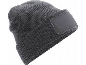 Akrylová čepice s podšívkou a keprovou vazbou pro potisk