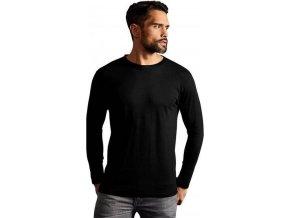 Pánské prémiové bavlněné triko Promodoro s dlouhým rukávem 180 g/m