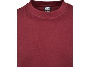 Prodloužené bavlněné rovné pánské triko Urban Classics 180 g/m