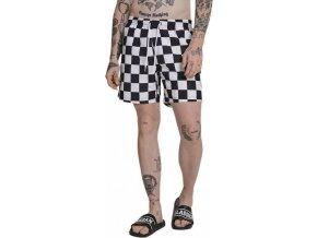 Různě kostkované plavky šortky Urban Classics