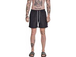 Pánské plavky šortky s nápisem FuckYou Urban Classics