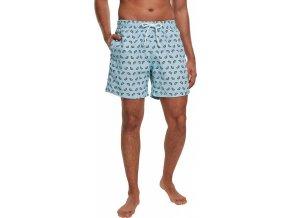Šortky plavky s melounovým vzorem Urban Classics