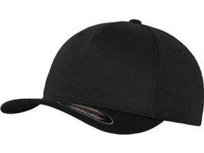 Flexfit baseballová čepice s prohnutým kšiltem bez uzávěru 5 panelová