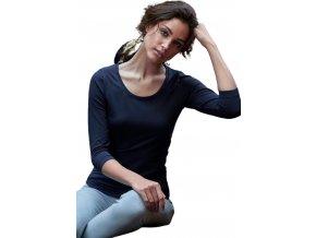Strečové dámské tričko Tee Jays se 3/4 rukávy