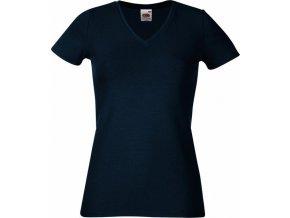 Dámské strečové tričko do véčka 95% bavlna