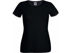 Dámské prodloužené tričko s kulatým výstřihem 95% bavlna