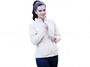 Micro fleecová bunda na zip