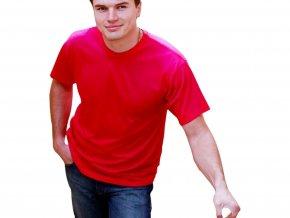 Lehké měkké tričko Russell ze 100% bavlny