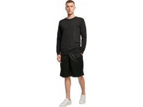 Zpevněné tričko s dlouhým rukávem Build Your Brand 240 g/m