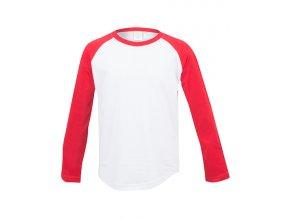 Dětské tričko s dlouhým barevným rukávem Baseball T